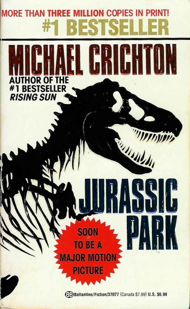 an analysis of the novel jurassic park by michael crichton Jurassic park michael crichton table of  summary & analysis  how to write  literary analysis suggested essay topics  order jurassic park at bncom   18 literary quotes that will break your heart—but only if you've read the book.