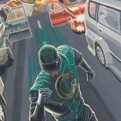 """Super-Heróis: Um bate-papo com Gustavo Vícola, autor de """"Roda-Viva"""""""