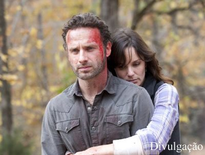 The Walking Dead - Rick-e Lori