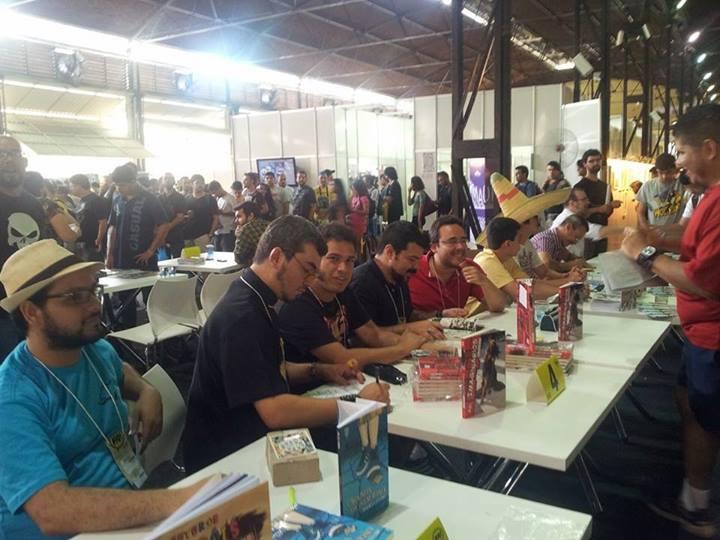 Quadrinhos da Editora Draco invadem o FIQ