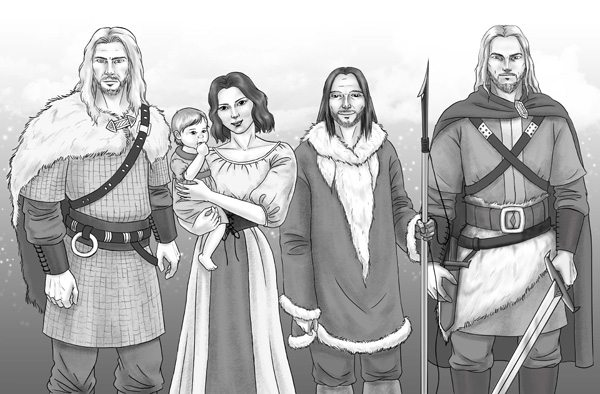A Saga de Thorold, por Ana Lúcia Merege
