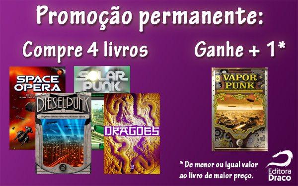 Livraria da Draco: Leve cinco livros impressos e pague quatro!