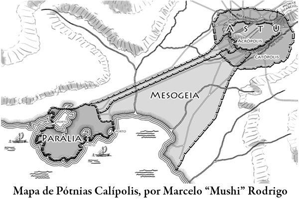 "As cidades de ""Crônicas de Atlântida"": Pótnias Calípolis"