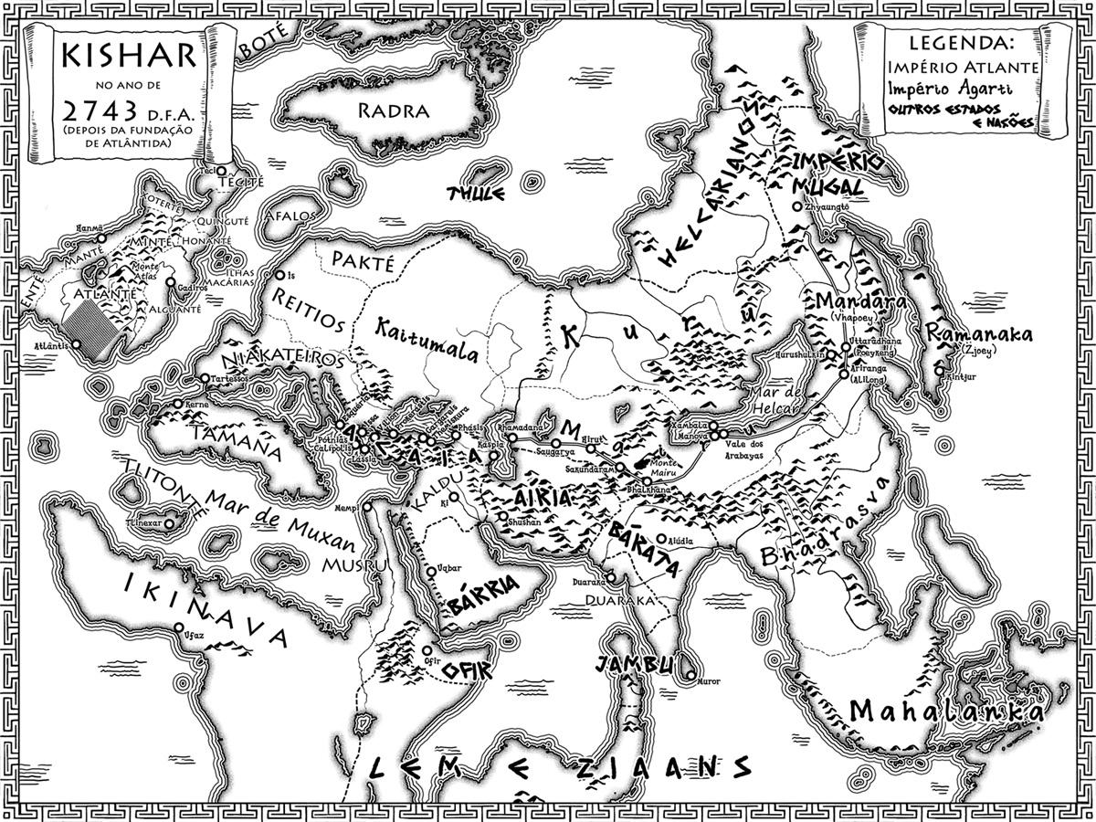 Por dentro das Crônicas de Atlântida: o olho de Agarta