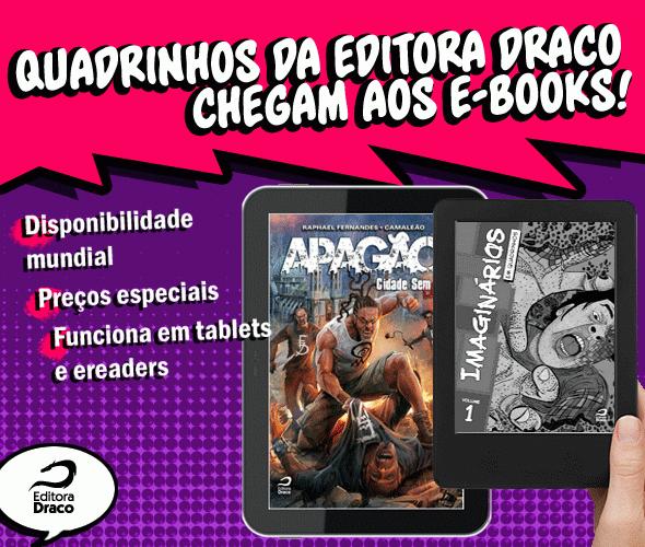 Quadrinhos da Draco agora em e-book