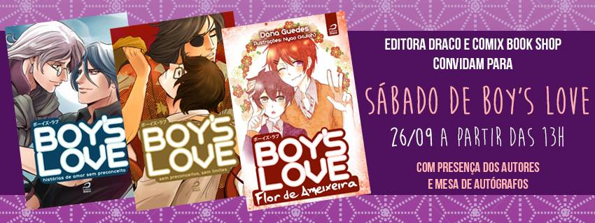 Sábado de Boy's Love na Comix Book Shop
