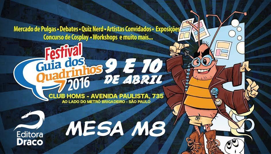Draco no Festival Guia dos Quadrinhos 2016