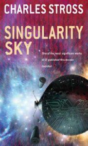 Singularity Sky, romance de estreia de Charles Stross