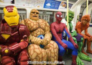 Super-heróis – resultados da seleção para a coletânea