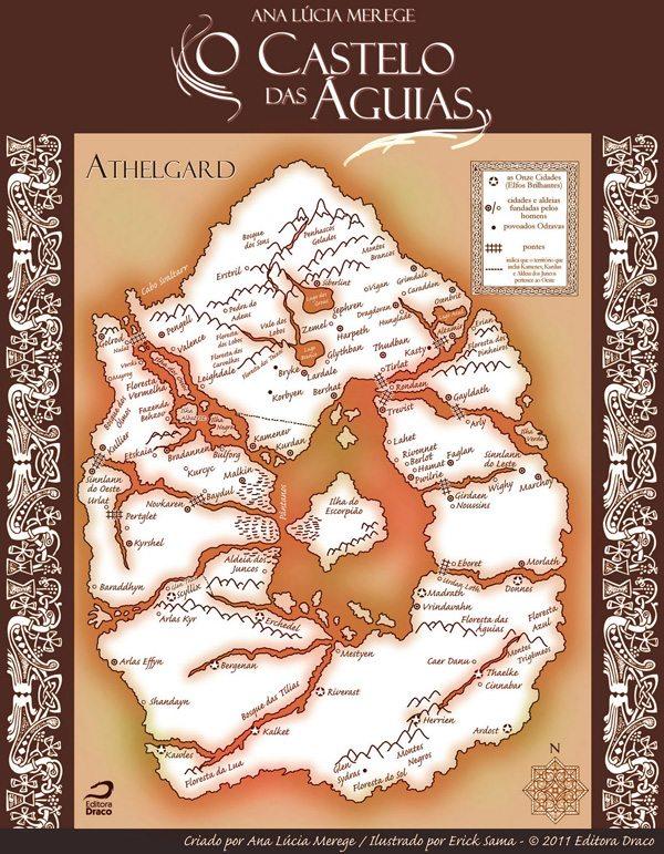 Athelgard – a origem, por Ana Lúcia Merege