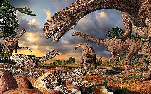 Dinossauros – resultados para a coletânea