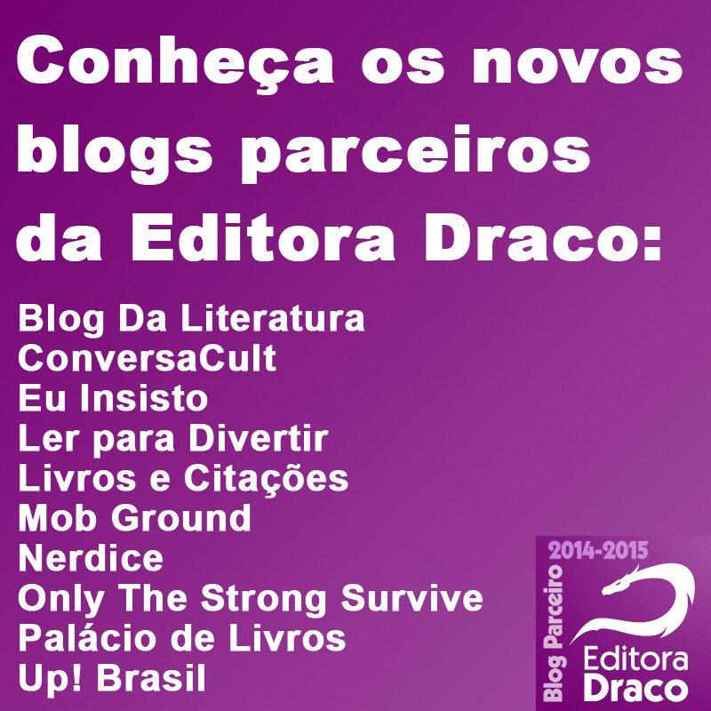 Resultado – Seleção Draco Parceiros – Blogs Literários 2014-2015