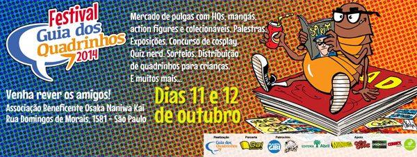 Draco no Festival Guia dos Quadrinhos 2014