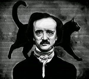 Edgar Allan Poe - Arte: by KlarEm