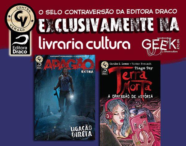 Selo Contraversão com distribuição exclusiva na Livraria Cultura
