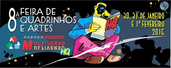 Draco na 8ª Feira de Quadrinhos e Arte