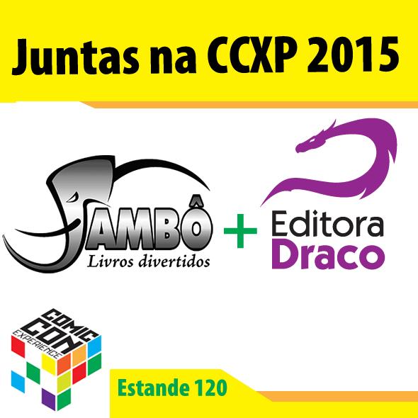 Jambo e Draco estarão juntas com estande na CCXP