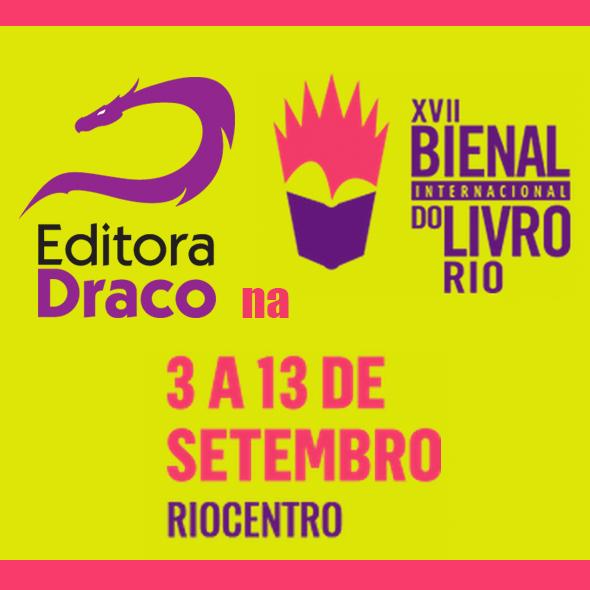Draco na Bienal do Livro Rio de Janeiro