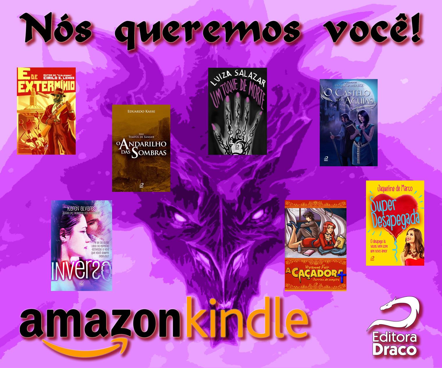 Aceita parceria? — Ação de e-books da Draco na Amazon