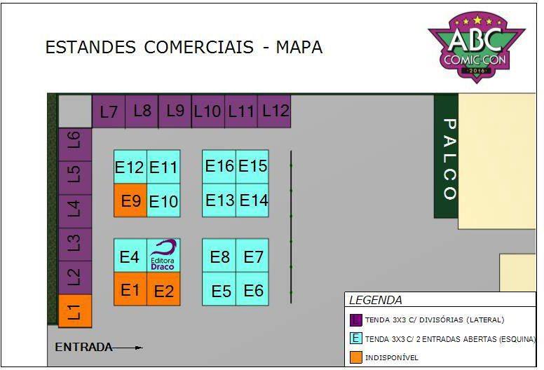 Mapa-Estandes