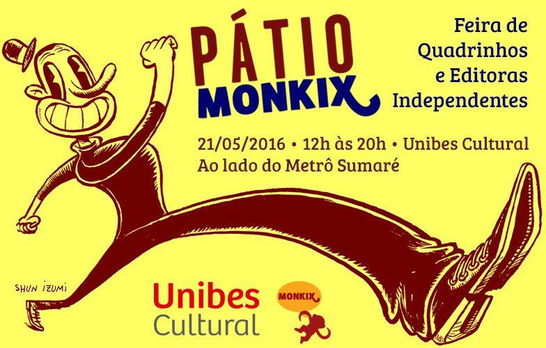 Draco no Pátio Monkix – Feira de Quadrinhos e Editoras Independentes
