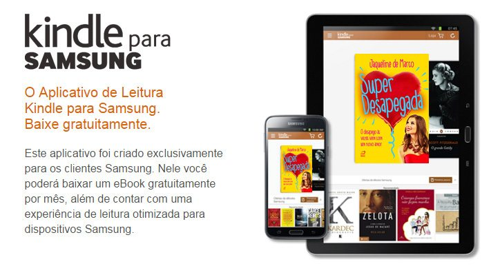 Super Desapegada, de Jaqueline de Marco, no Kindle for Samsung