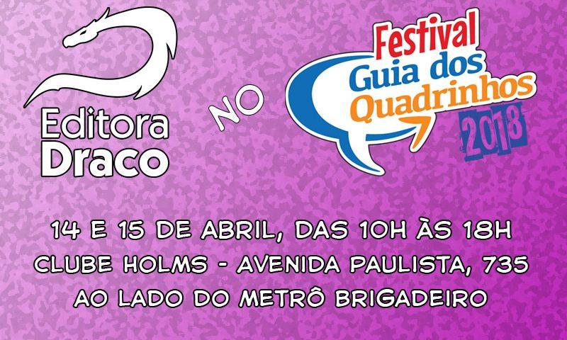 Draco no Festival Guia dos Quadrinhos