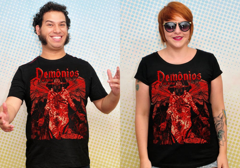 camiseta Demônios da Goétia