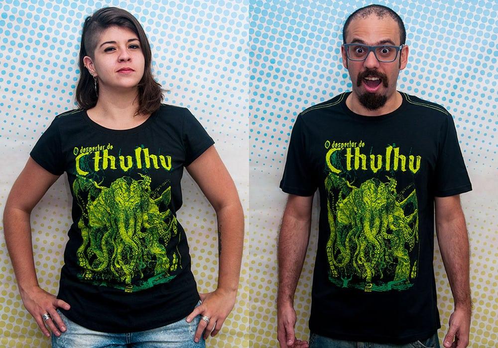 camiseta O Despertar de Cthulhu