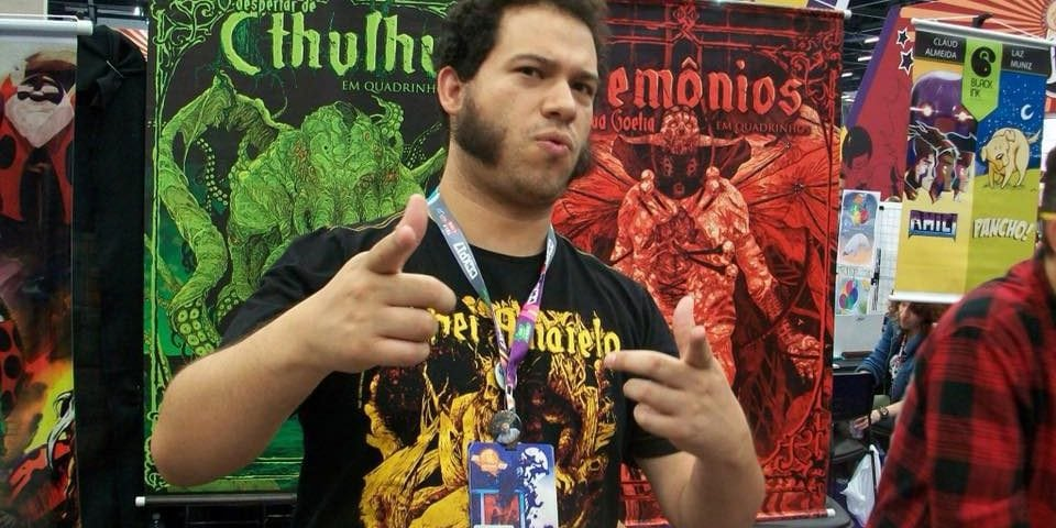 Raphael Fernandes na CCXP