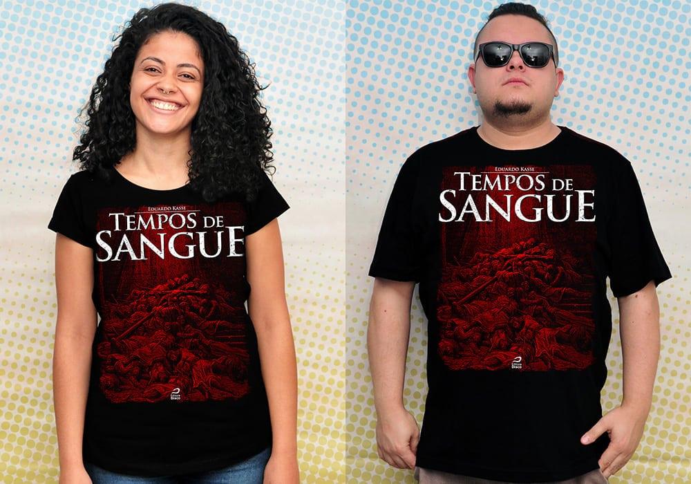 camiseta Série Tempos de Sangue