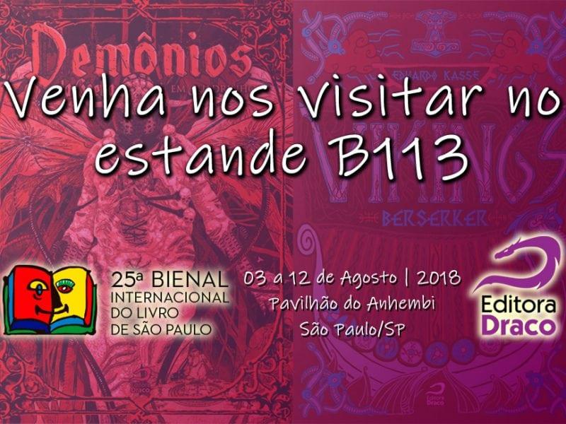 25 Bienal do Livro de SP - Editora Draco